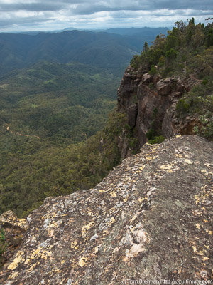 The ridge to Bonnum Pic, Nattai NP
