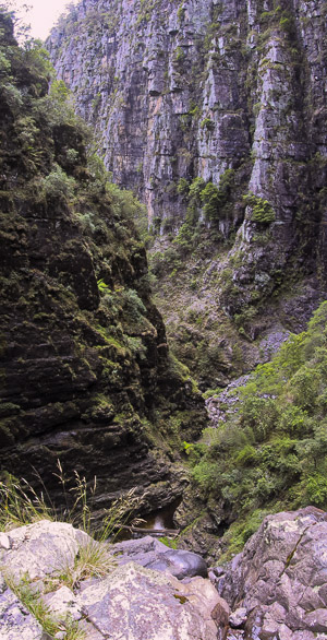 The walls of Davies Canyon, Kanangra-Boyd National Park